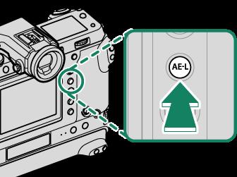 相机显示存储卡锁定_对焦/曝光锁定